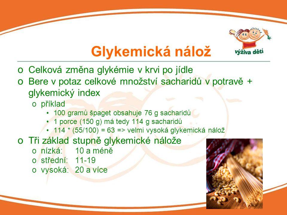 """Skutečný příjem sacharidů v dětské stravě - výsledky průzkumu o """"Jak jedí české děti , květen 2007 o Do průzkumu zahrnuto cca 500 dětí (3."""