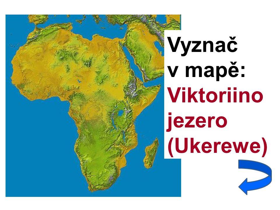 Vyznač v mapě: Viktoriino jezero (Ukerewe)