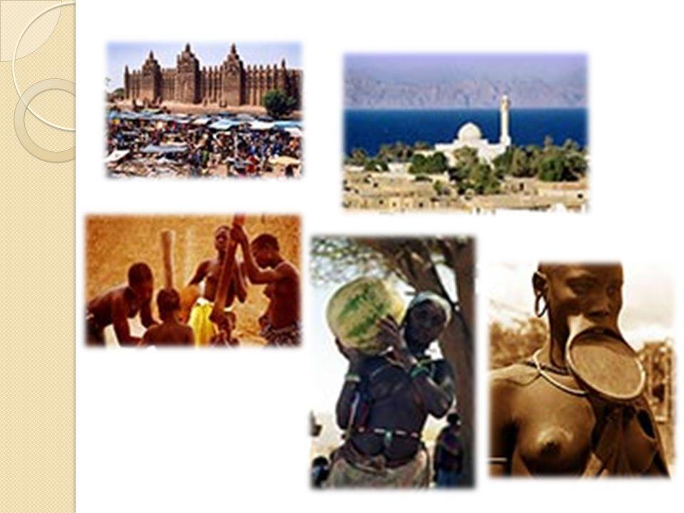P ř es širokou paletu kultur v západní Afriky, od Nigérie p ř es k Senegalu, tam jsou obecné podoby v šatech, kuchyni, hudb ě a kultu ř e to být ne sdílený zna č n ě se skupinami u geografické oblasti.
