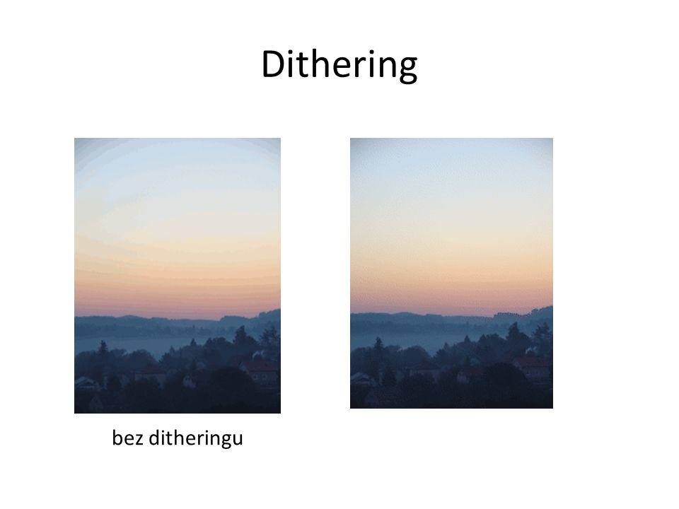 Dithering bez ditheringu