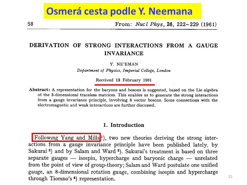 15 Osmerá cesta podle Y. Neemana