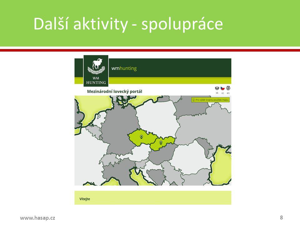 Další aktivity - spolupráce 8 www.hasap.cz