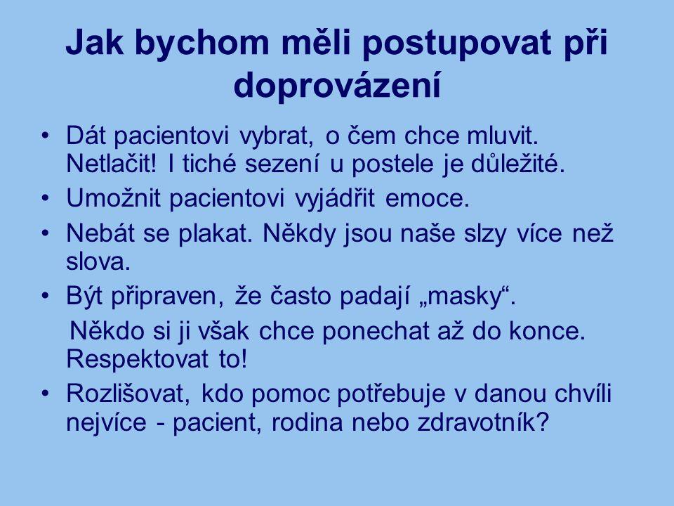 Více informaci na: www.centrum-cercany.cz www.hospice.cz www.asociacehospicu.cz www.umirani.cz www.paliativnimedicina.cz Děkuji za pozornost a přeji hodně sil při studiu.