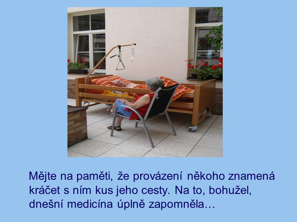 Spirituální bolest (utrpení): Bolest nemocného zasáhne na těle, na duši a na duchu.