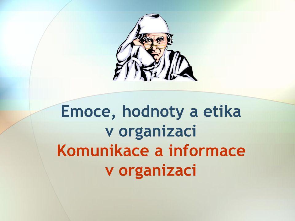 21 Horizontální komunikace  Jistou nevýhodou je, že po těchto neformálních spojeních se často šíří nesouvisející zprávy s výkonem pracovních činností nebo informace, které jsou nepřesné, neúplné a dokonce nepravdivé.