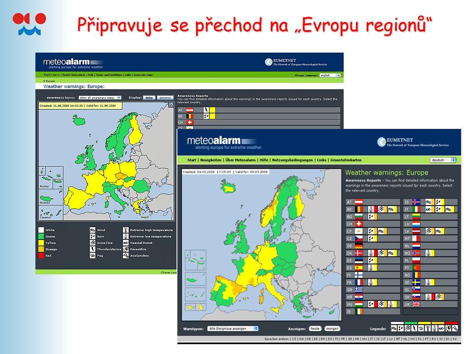 """Připravuje se přechod na """"Evropu regionů"""