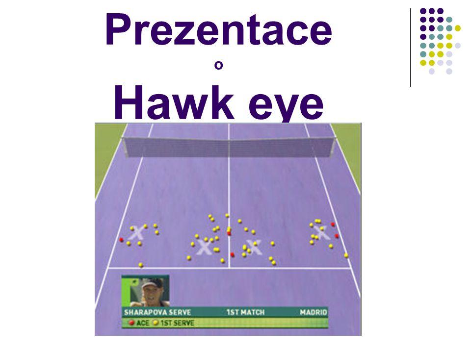 Prezentace o Hawk eye
