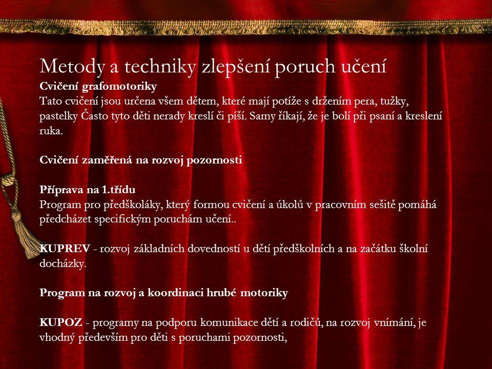 Pomůcky při psaní Items presented on this slide: 1.