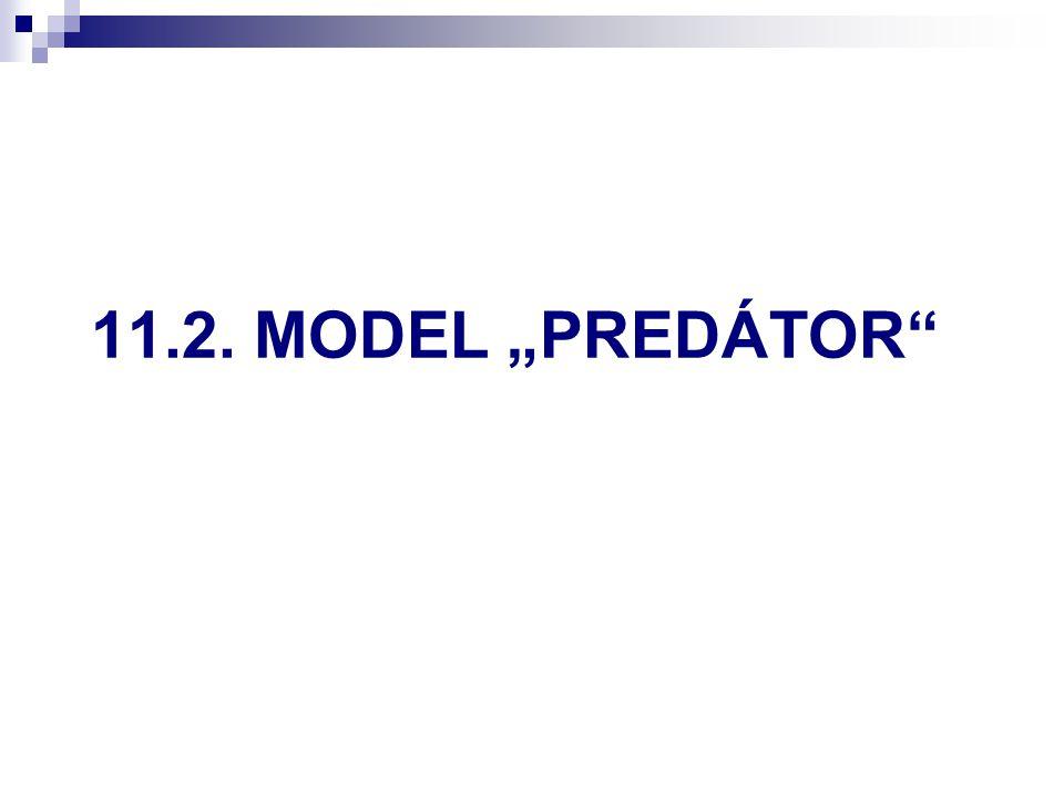 """11.2. MODEL """"PREDÁTOR"""