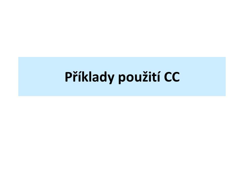 Příklady použití CC