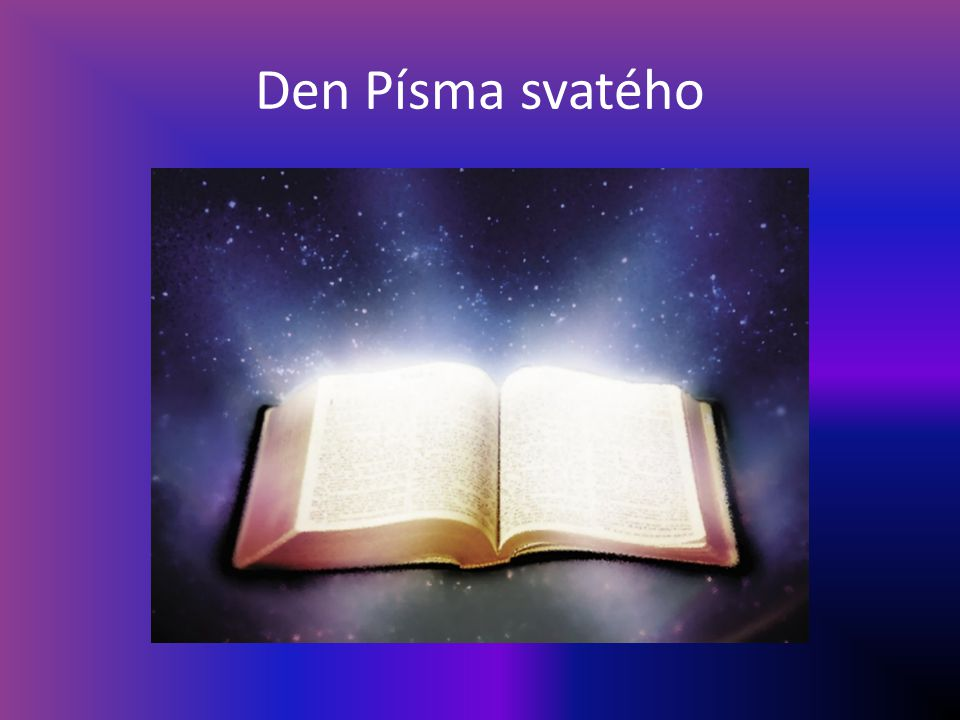 Písmo svaté