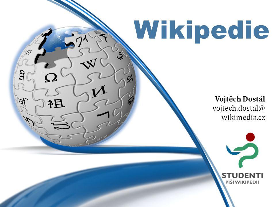 Wikipedie je největší encyklopedií všech dob.Alexa Rank 6 Bez reklam.