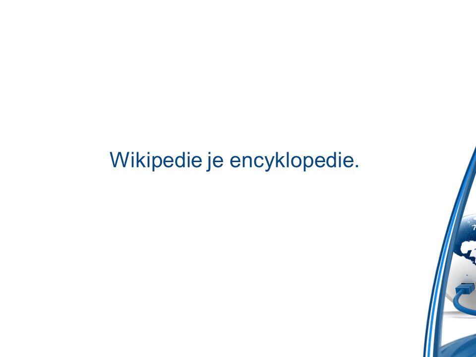 Jak upravovat Wikipedii?