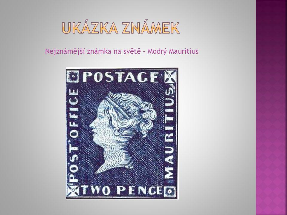 Nejznámější známka na světě – Modrý Mauritius