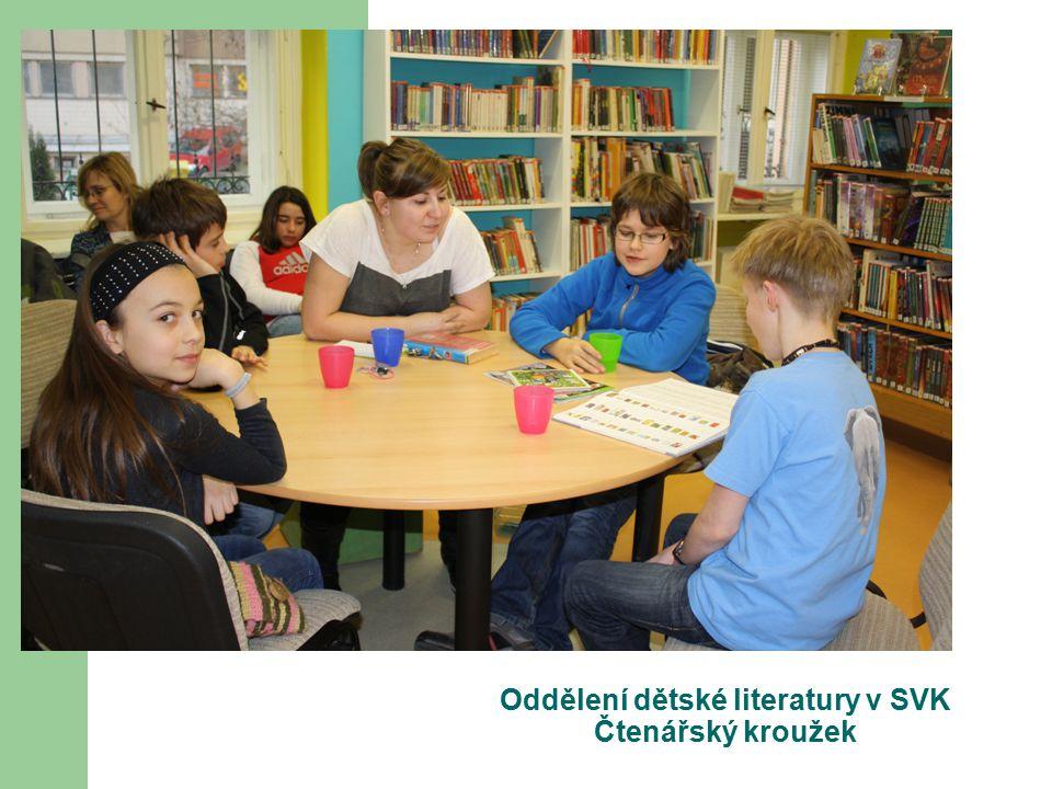 Oddělení dětské literatury v SVK Čtenářský kroužek