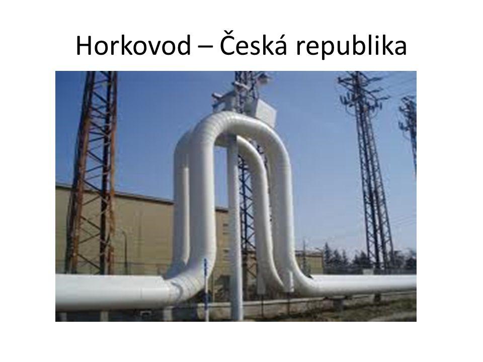 Horkovod – Česká republika