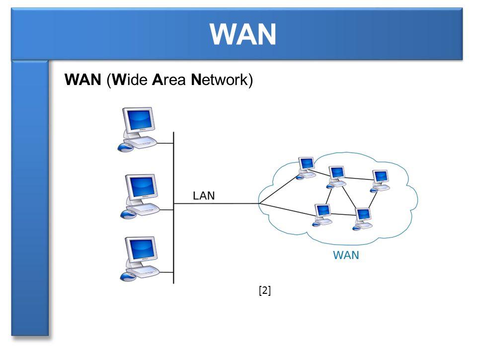 WAN (Wide Area Network) WAN [2]