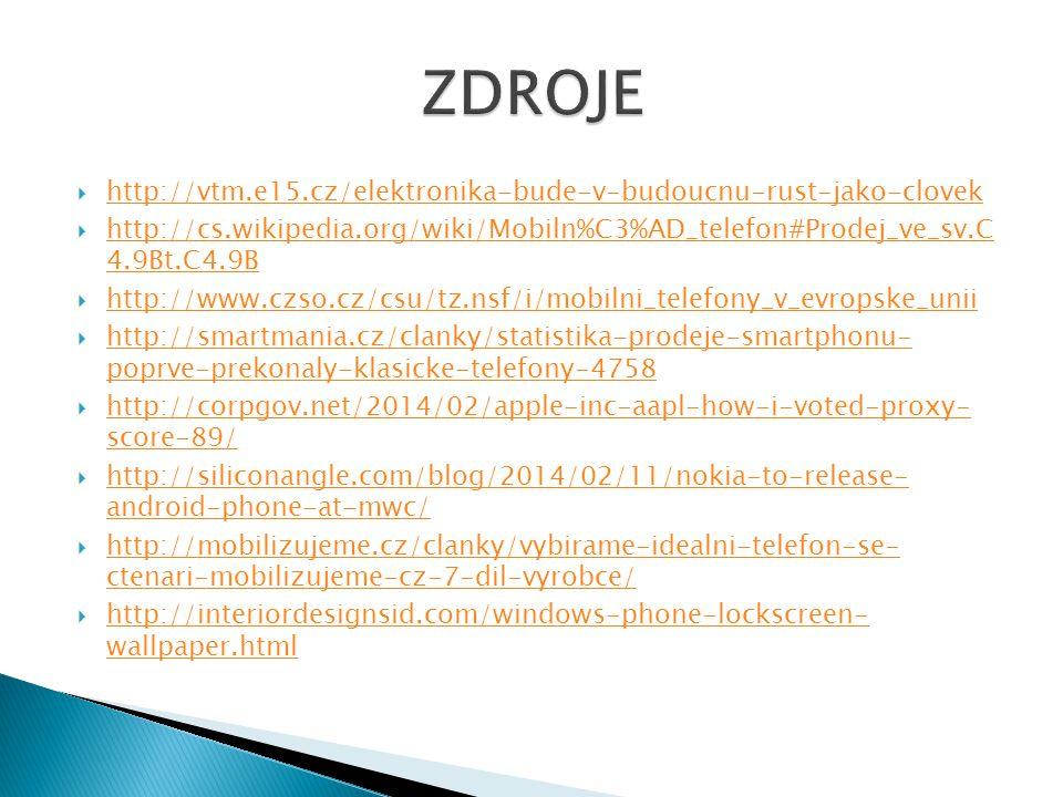  http://vtm.e15.cz/elektronika-bude-v-budoucnu-rust-jako-clovek http://vtm.e15.cz/elektronika-bude-v-budoucnu-rust-jako-clovek  http://cs.wikipedia.