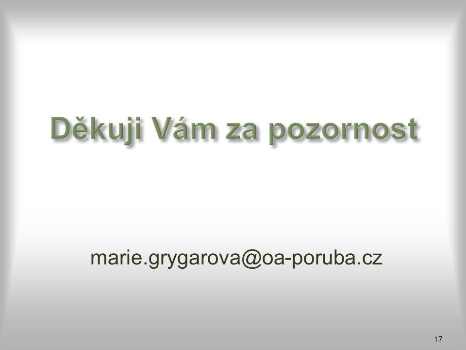 marie.grygarova@oa-poruba.cz 17