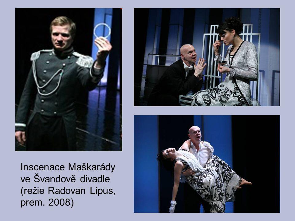 Inscenace Maškarády ve Švandově divadle (režie Radovan Lipus, prem. 2008)