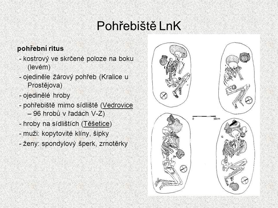 Keramika LnK -kulovité a polokulovité tvary, láhve, putny, kónické misky, misky na nožce (poč.