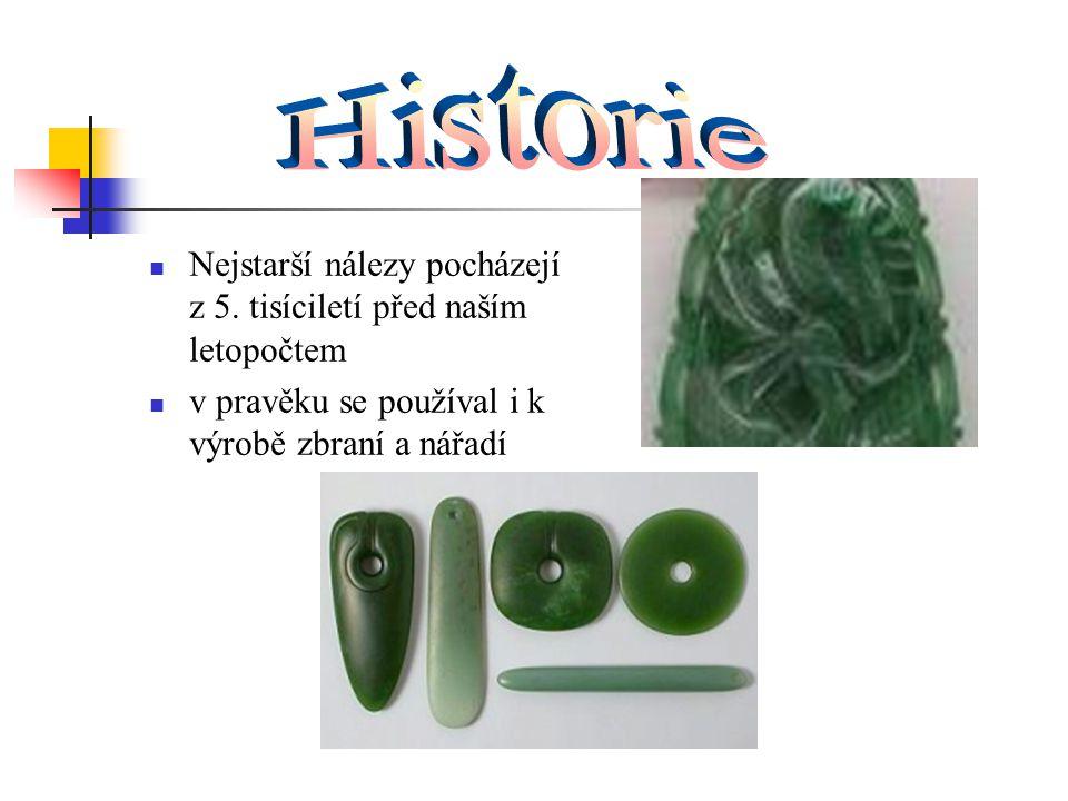 Nejstarší nálezy pocházejí z 5. tisíciletí před naším letopočtem v pravěku se používal i k výrobě zbraní a nářadí