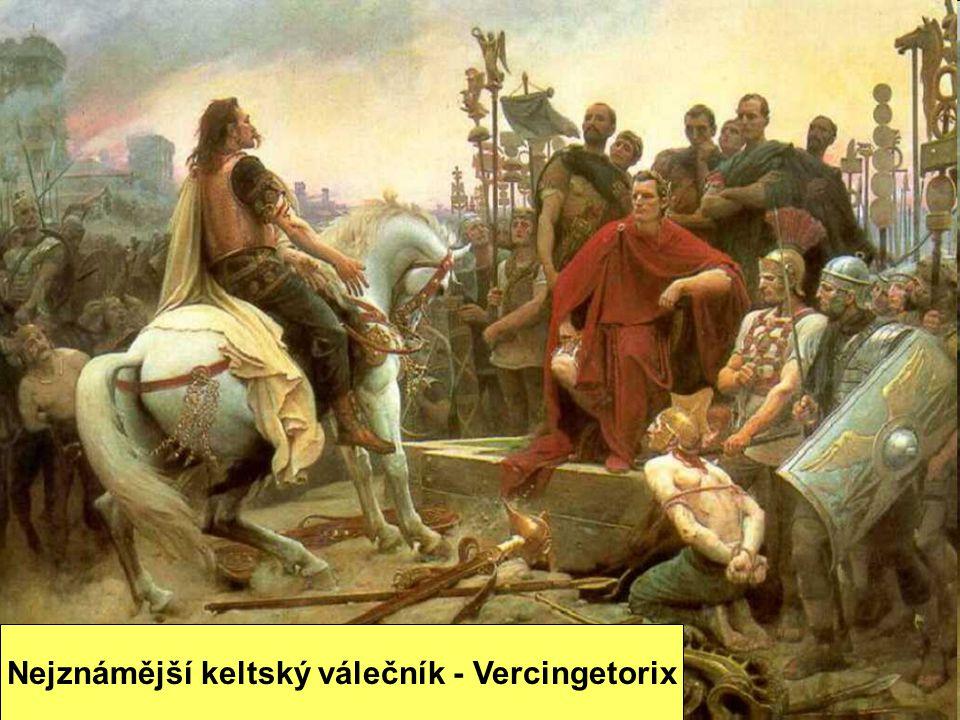 Nejznámější keltský válečník - Vercingetorix