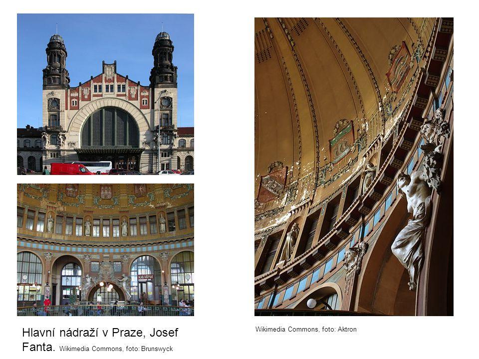 Hlavní nádraží v Praze, Josef Fanta.