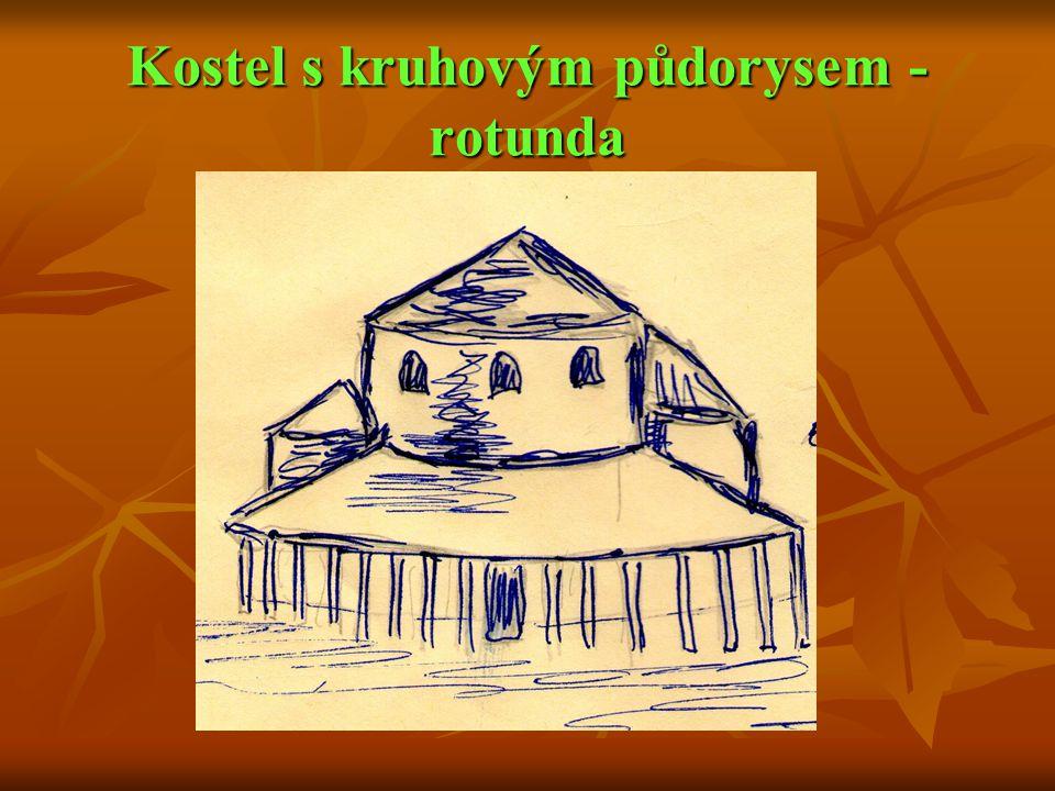 Kostel s kruhovým půdorysem - rotunda