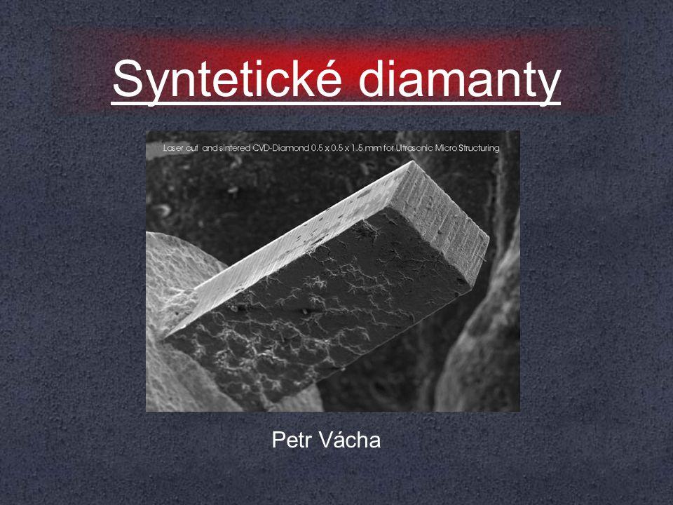 Menu ﮱ Co je to umělý diamant.