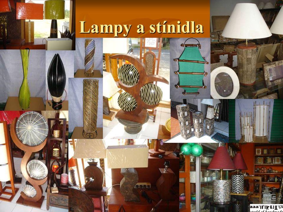 Lampy a stínidla