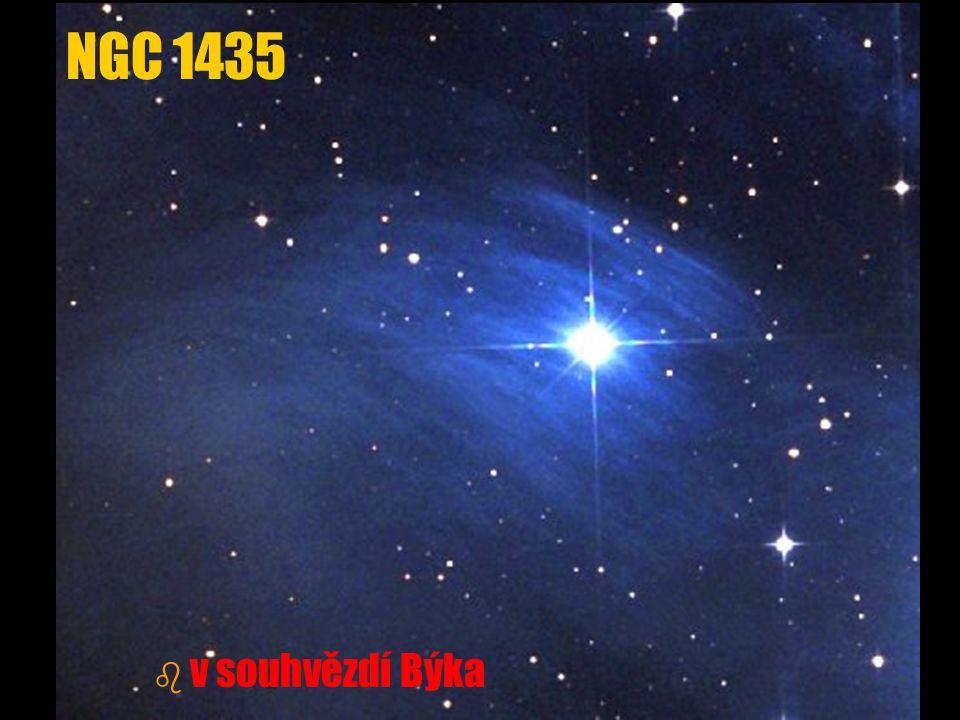 NGC 1435 b b v souhvězdí Býka