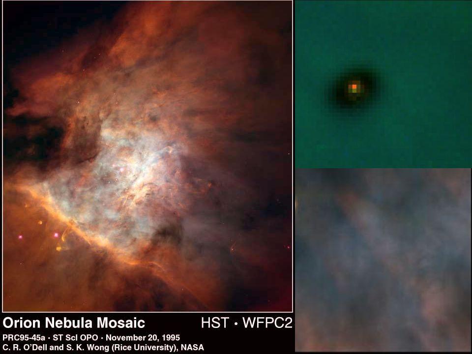 Velká mlhovina z Hubblova teleskopu