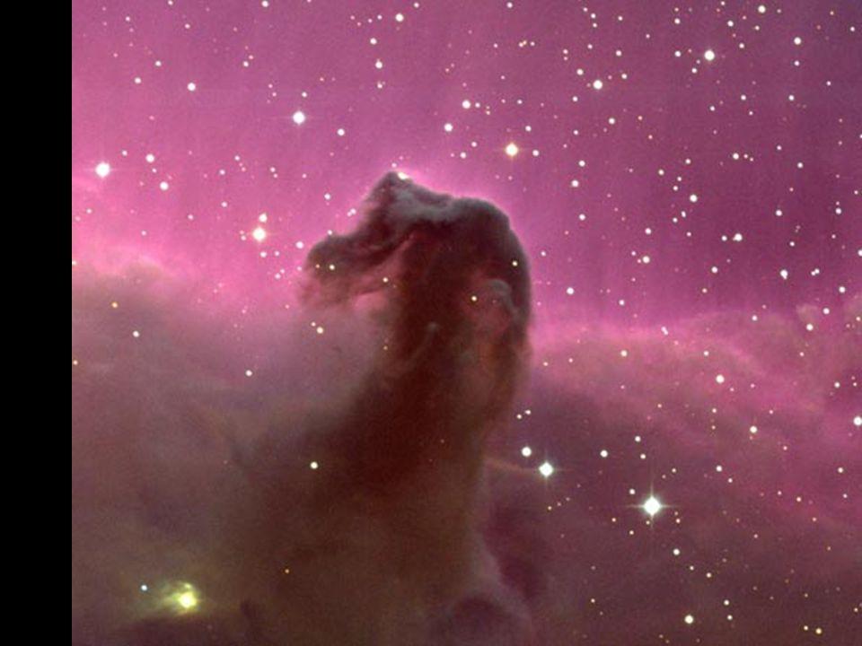 Koňská hlava (Barnard 33) b b v mlhovině IC 434 v souhvězdí Orionu b b objev v 19. století b b vzdálenost: 1500 světelných let infračervený snímek