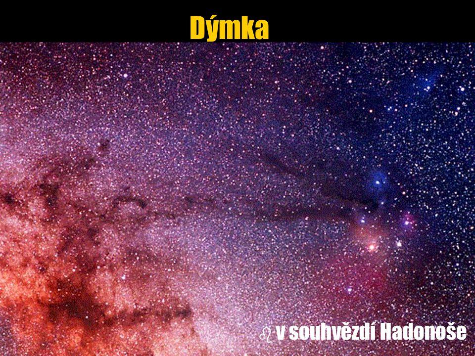 Dýmka b b v souhvězdí Hadonoše