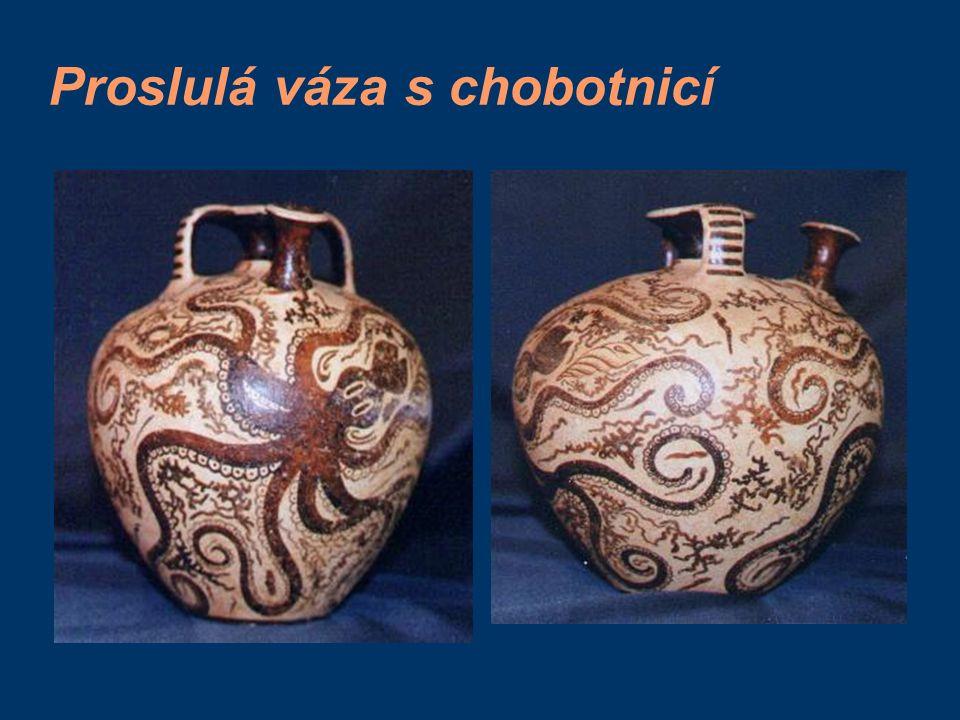 Proslulá váza s chobotnicí
