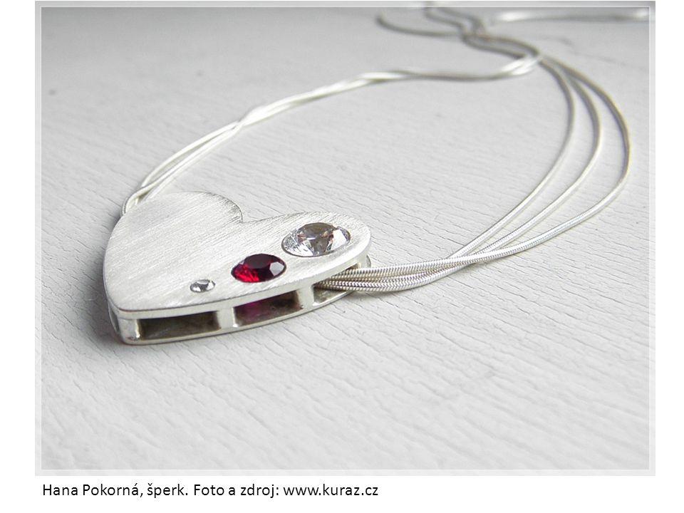 Hana Pokorná, šperk. Foto a zdroj: www.kuraz.cz