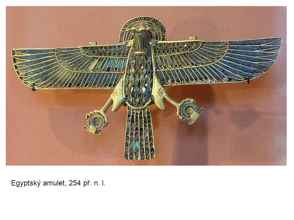 Egyptský amulet, 254 př. n. l.