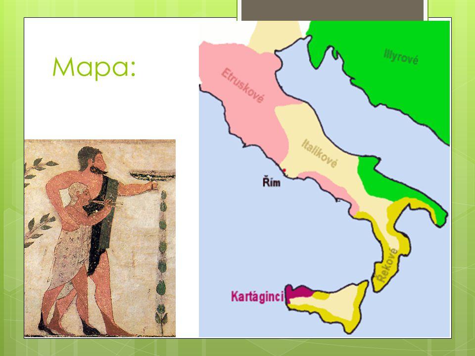 Založení města:  - kolem r.753 př.n.l.