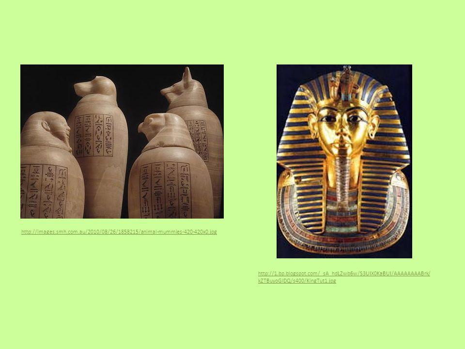 http://images.smh.com.au/2010/08/26/1858215/animal-mummies-420-420x0.jpg http://1.bp.blogspot.com/_sA_hdLZwb6w/S3UIX0KaBUI/AAAAAAAABrk/ kZTBuyoGlDQ/s400/KingTut1.jpg