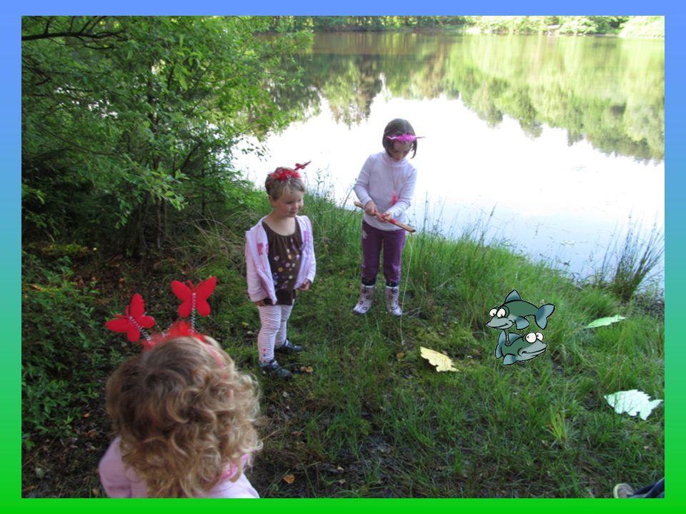 Sobotní dopoledne a hrajeme si s vodníky.