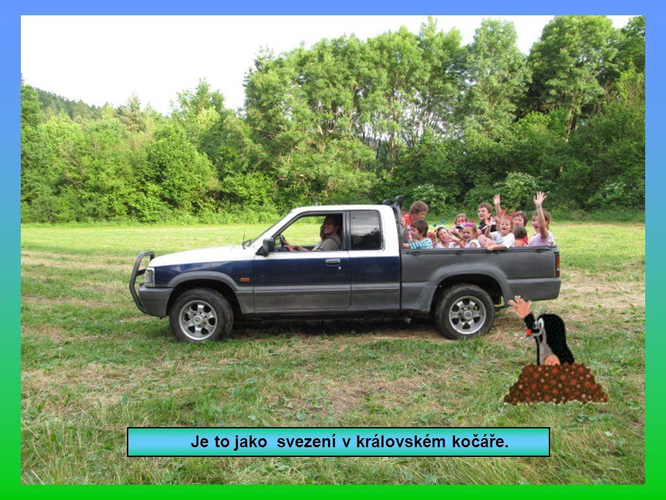 Výprava lesem do Budislavic na nanuka.