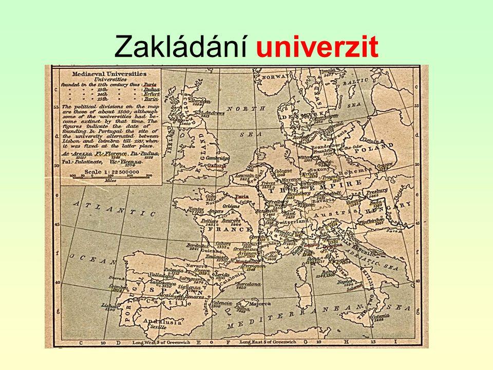 Zakládání univerzit