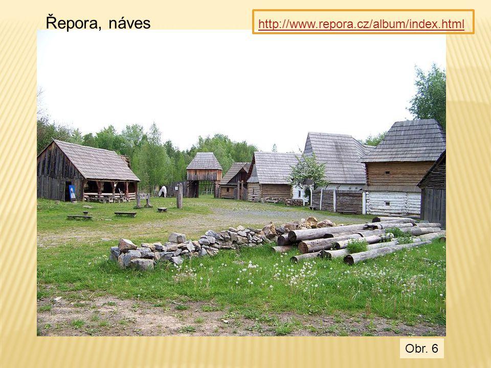 Řepora, náves http://www.repora.cz/album/index.html Obr. 6