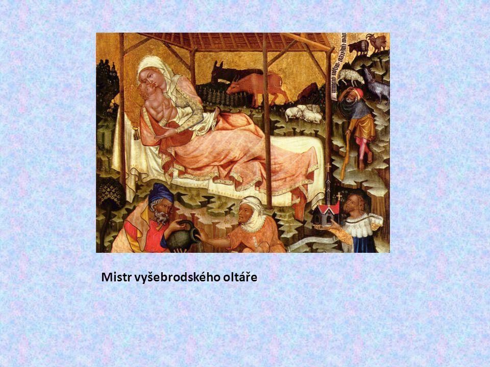 Mistr Theodorik před r.1365 dvorní malíř Karla IV.