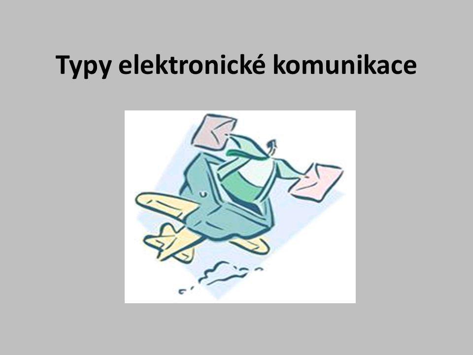 1.Elektronická konference ……… 2.Moderovaná konference ……..
