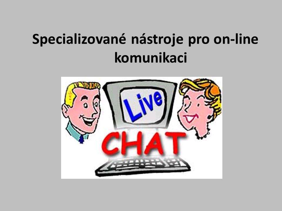 Oblíbenými službami, které umožňují využití multimediální komunikace jsou např.: ⁻ Messenger……………….