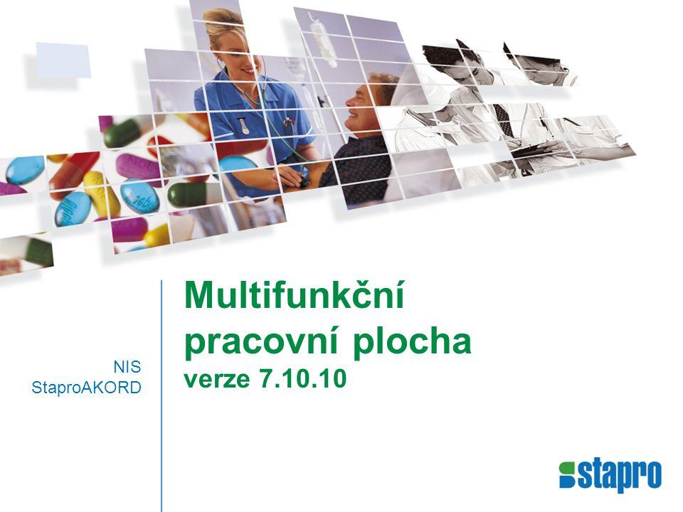 Multifunkční pracovní plocha verze 7.10.10 NIS StaproAKORD