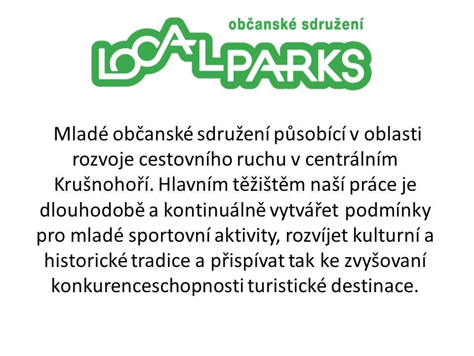 Mladé občanské sdružení působící v oblasti rozvoje cestovního ruchu v centrálním Krušnohoří.