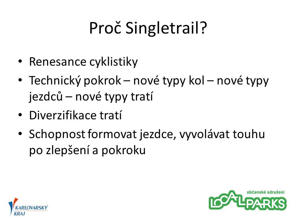 Proč Singletrail.